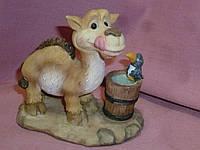 Верблюд декоративная статуэтка фигурка 9,5х9 сантиметров