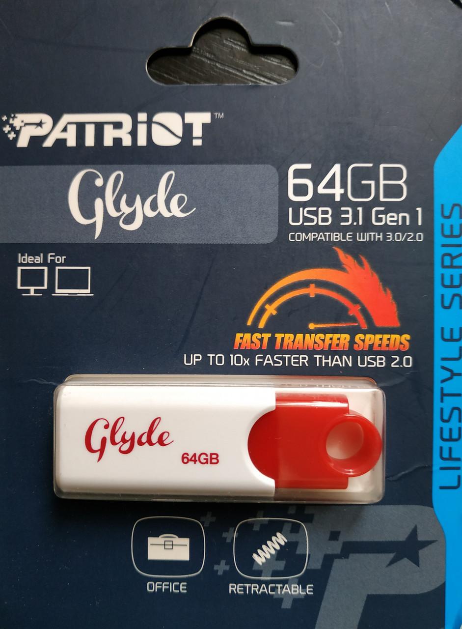 Флеш накопитель Patriot GLYDE 64 гб 3.1