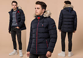 Зимняя мужская подростковая куртка  с капюшоном  BR  73563