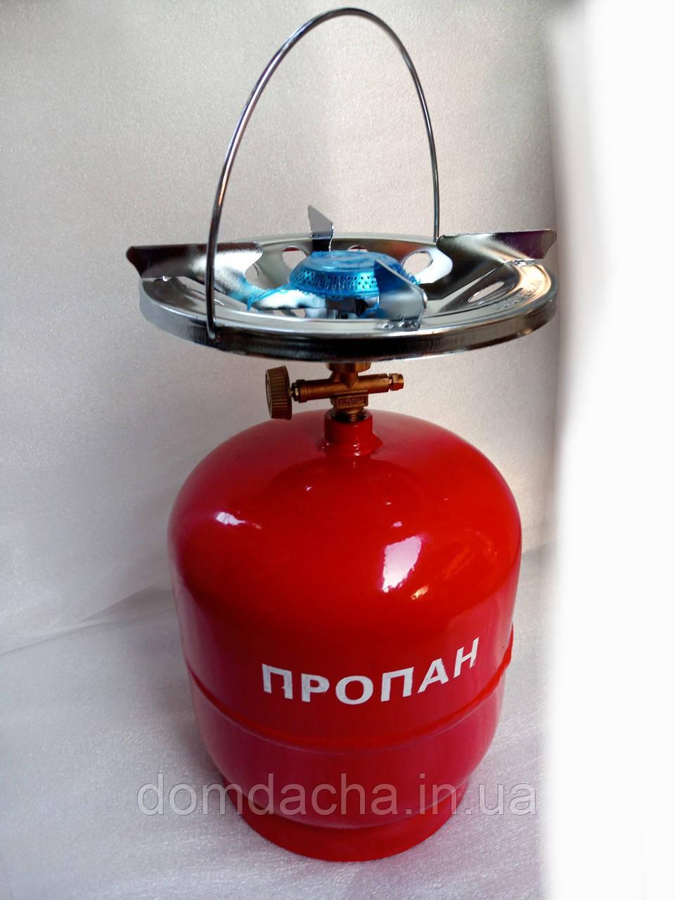 Газовий комплект Intertool Комплект газовый кемпинговый 5л GS-0005