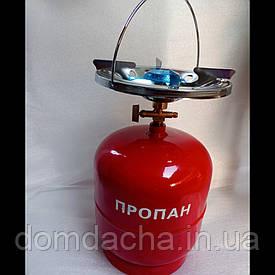 Газовий комплект Intertool Комплект газовый кемпинговый 3л GS-0003