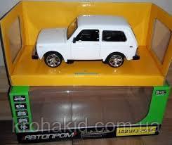 Машина металл АВТОПРОМ (7812) НИВА,белый