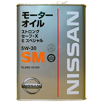 Полусинтетическое моторное масло Nissan Strong Save XE Special 5w-30 SM (4лтр.)