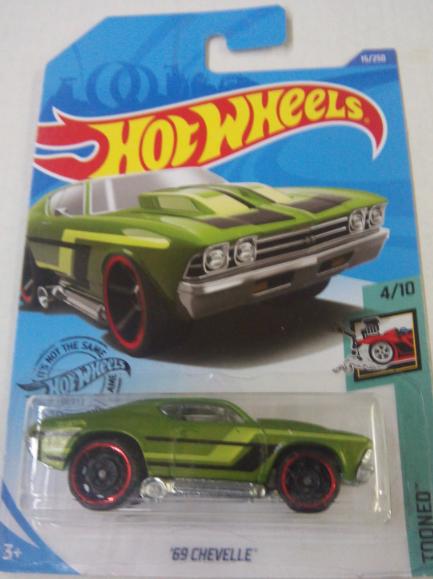 Машинка Hot Wheels 2020 '69 Chevelle