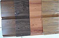 Металлический сайдинг фальшбрус-золотой дуб от Дах Сервис