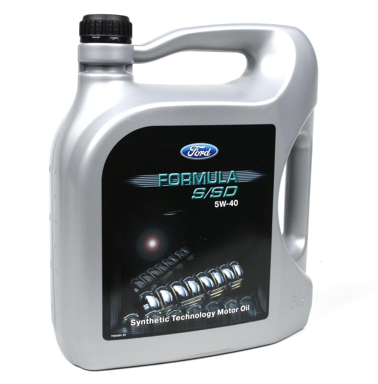 Оригинальное моторное масло Ford Formula S/SD 5W40 (5л)