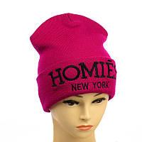 Молодежная шапка с 3D вышивкой