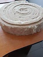 Оконный утеплитель материал джут натуральный толщина 3 см в ленте шир.10 см длина 10 м