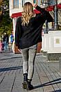 Женский чёрный свитер, р.42-50, вязка, фото 5