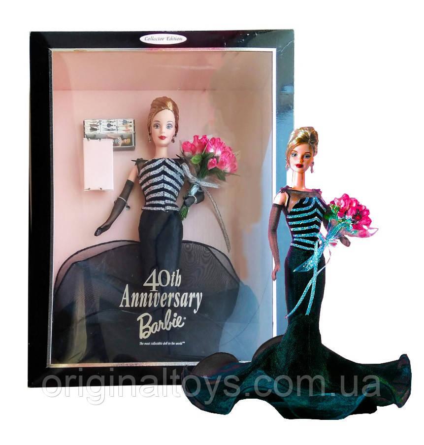 Коллекционная кукла Барби 40-летие 40th Anniversary Barbie 1999 Mattel 21384