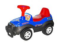 Детская каталка Джип.Яркий транспорт для малышей.Толокар для детей.