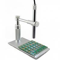 Портативный цифровой AV микроскоп 200Х