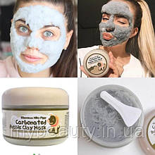 Глиняно-Бульбашкова маска для обличчя Elizavecca Milky Piggy Carbonated Bubble Clay Mask