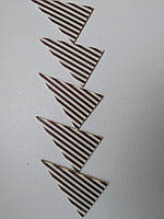 Шоколадные треугольнички (5,6 см на 3,5 см) Barbara Dekor - 5шт