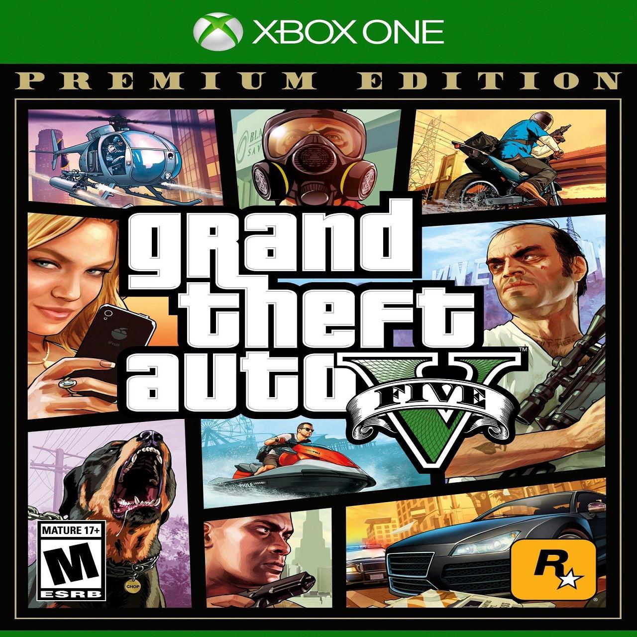 GTA V Premium Edition (російські субтитри) Xbox One