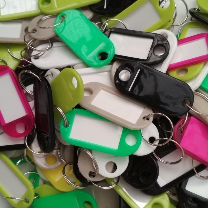 Бирки на ключи(упаковка - 10     штук)