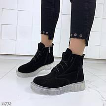 Ботинки черные зима, фото 2