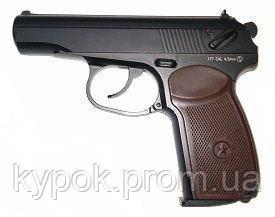 Пневматичний пістолет KWC KM-44 DHN PM MAKAROV FULL METAL