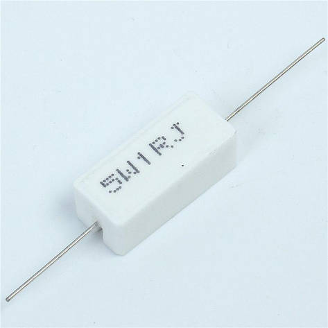 Резистор 1Ом 5Вт 1Ohm 5W, фото 2