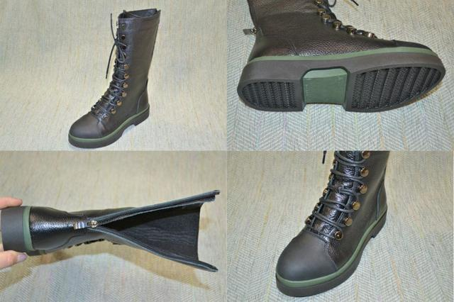 Высокие женские ботинки-сапоги, Vifesst фото