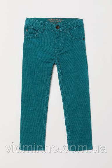 Дитячі вельветові штани H&M на зріст 134 см