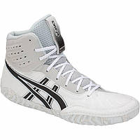 БОРЦОВКИ ASICS AGGRESSOR 4 WHITE/GREY, фото 1