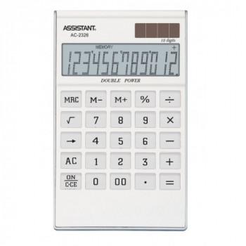 Калькулятор ASSISTANT AC-2326  (white)