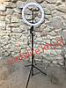 Профессиональная кольцевая светодиодная лампа 26см высота 3м на штативе для блогера/селфи/фотографа/визажиста/, фото 6