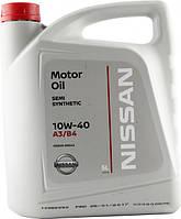 Моторное масло Nissan 10W40 (5л) Оригинальное