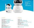 Поворотная камера Wi-Fi IP Sannce HD 1080P Оригинал ! Escam Wanscam, фото 3