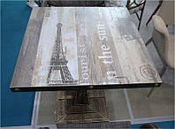 Стол Париж 70х70 см квадратный на металлической опоре, для бара, кафе, ресторана
