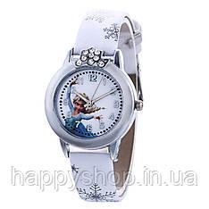 """Детские наручные часы для девочки """"Холодное сердце"""" (Белые)"""