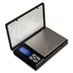 Карманные ювелирные электронные весы Kronos Notebook Scale от 0.01 г до 500 г Черный sp2151, КОД: 655982