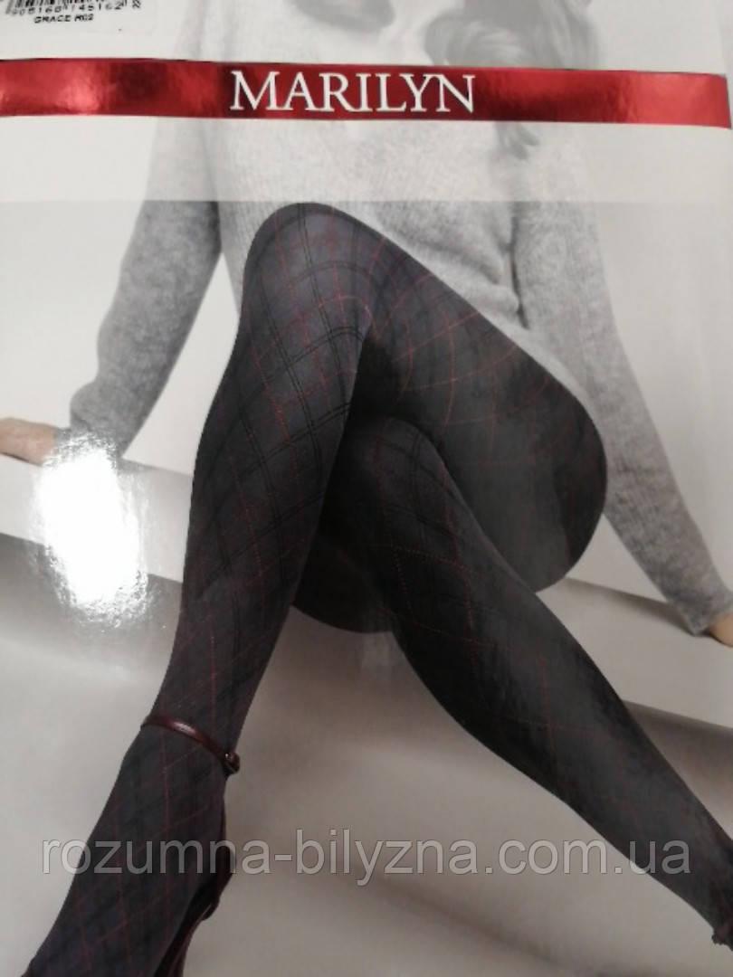 Колготи жіночі GRACE 60Den з візерунком. ТМ Marilyn. Польша