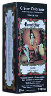 Крем-колорант Henne Color 90 мл Черный 140111-412, КОД: 1212381