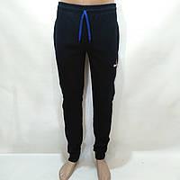 Спортивные штаны теплые Reebok / темно-синие / флис