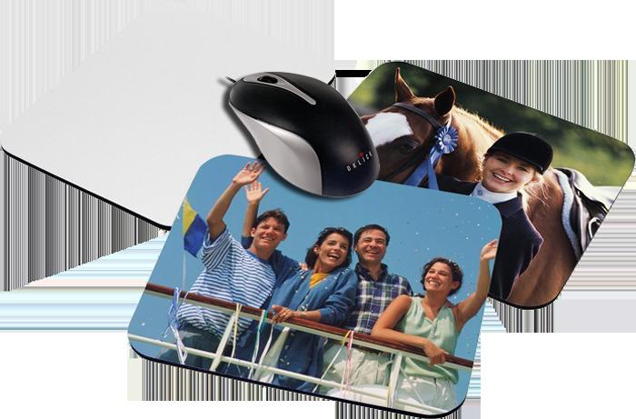 Коврик для мыши с Вашим фото, надписью или любым другим изображением 19х23 см