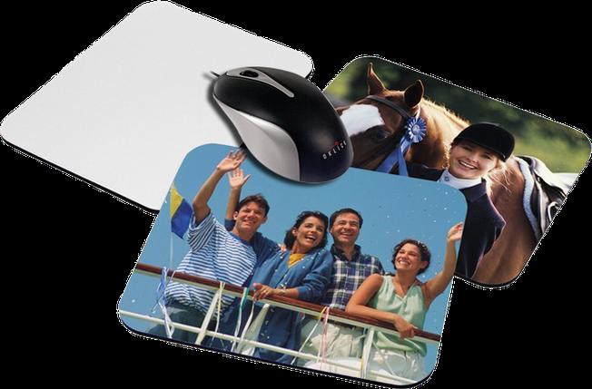 Коврик для мыши с Вашим фото, надписью или любым другим изображением 19х23 см, фото 2