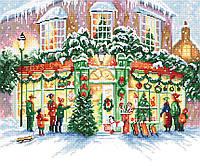 """Набор для вышивания крестом TM """"LetiStitch"""" LETI 914 Рождественский магазин"""