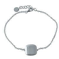 Серебряный браслет SilverBreeze с фианитами 17-20 см 1998489, КОД: 1195751