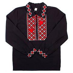 Рубашка для мальчиков Valeri-Tex 1535-20-311-001 170 см Черный 3903, КОД: 1229003