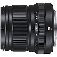 Объектив Fujifilm XF 50mm F2.0 R WR Black 16536611, КОД: 1247388