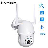 Поворотная 4X зум Wifi камера INQMEGA IP 1080P 2M PTZ наружная уличная