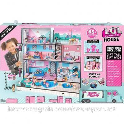 Ляльковий будиночок LOL Surprise Меганабор Модний особняк