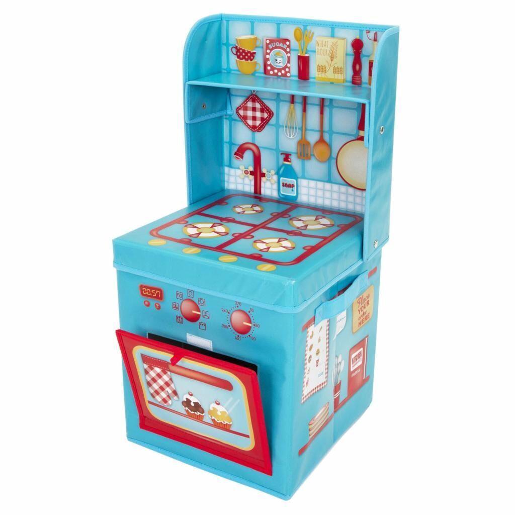 Ящик для игрушек Pop-it-Up игровой Кухня 29x29x62 см (F2PSB15081), фото 1