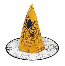 Шляпа Хеллоуин (Halloween) желтый