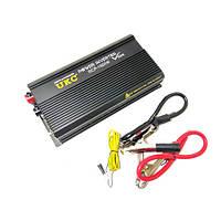 Профессиональный преобразователь инвертор UKC 12V-220V RCP 1500W sp4145, КОД: 213523