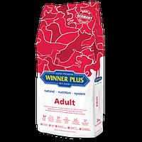 Сухой корм для взрослых собак Winner Plus Super Premium Adult 12003 3 кг hubDzsD75594, КОД: 969825