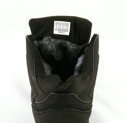 Ботинки ЗИМА-МЕХ Мужские Коламбиа Чёрные (размеры: 41) Видео Обзор, фото 3