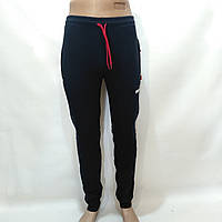Спортивные штаны теплые Puma (пума) / темно-синие / флис